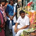 Vellampalli tour in Vijayawada West Constituency