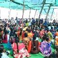 Puducherry CM Narayanasamy revesed Translation to Rahul Gandhi