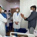 Chiranjeevi meets doctors