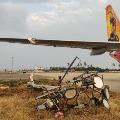 Airindi plane from Doha hits pole in Gannavaram airport