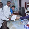 Palla Rajeswar Reddy files nomination for graduate mlc elections