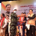 1040 Militants Of 5 Outfits Surrender In Assam