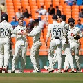 Team India in troubles at Motera