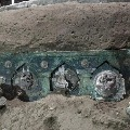 Exceptional discovery Archeologists find 2000 year old chariot intact near Pompeii