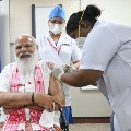What PM Modi Told Nurse After Receiving Vaccine