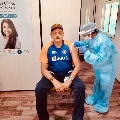Ravi Shastri Gets First Dose Of Covid19 Shot