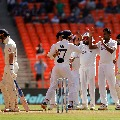 England all out in first innings of fourth test