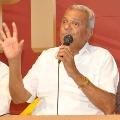 CPI Narayana campaigns in Guntur municipal elections