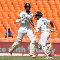 Team India crosses England first innings score