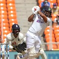 Pant reaches century with a massive six