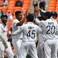 Team India spinners crumbles England in Ahmbedabad test