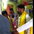Balakrishna furious over an young man in Hindupur