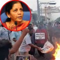 Vizag steel plant workers fires on Nirmala sitharaman answer