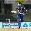Shreyas Ayyar fifty helps India hundred plus score