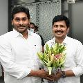 Tirupati YSRCP candidate Gurumurthy meets Jagan