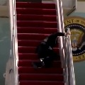US President Joe Biden stumbles thrice trying to board Air Force One