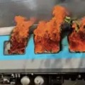 Strict punishment to smokers in trains
