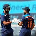 Kohli and Rahul completes fifties as India eyes huge total in second ODI against England