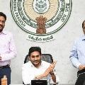 CM Jagan inaugurated updated Spandana Portal