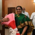 Tirupati by polls BJP contestant Rathna Prabha press meet