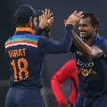 Team India wins third ODI and clinched series