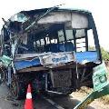 Four killed in road accident near Batlagundu and 8 critical