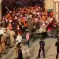 Sikh Protesters Attack on Police in Nanded
