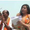Actress Namitha Cancells Election Campaign