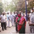 Telangana Governor Tamilisai cast her vote in Tamil Nadu