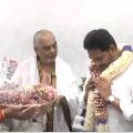 TTD high priest Ramana Deekshitulu met CM Jagan