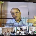 Telangana CS Somesh Kumar video conference with district collectors