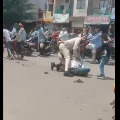 2 Cops Brutally Thrash Indore Man