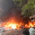 Huge fire accident in Hyderabad