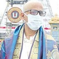 NV Ramana in Tirumala for Lord Darshan