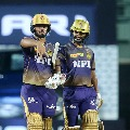 Nitish Rana and Rahul Tripathi fifties helps KKR to post huge total