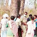Tribals Attacked on Forest Officers in Bhadradri Kothagudem dist