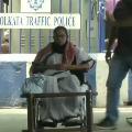 West Bengal CM Mamata Banerjee sits on dharna