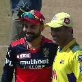 Toss won by Mahendra Singh Dhoni