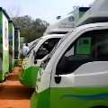 Operators returns ration door delivery vehicles