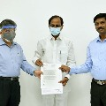 Coramandal Fertilizers donates one crore to Telangana CM Relief Fund