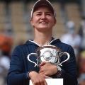 Krejcikova wins First Grand Slam