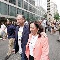 Kamala Harris Takes Part in LGBTQ Rally