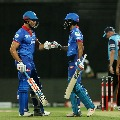 Delhi Capital posts huge total against Sunrisers in IPL second qualifier