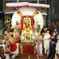 Lord Balaji on Silver Son Chariot after 30 Years