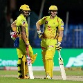 Chennai Super Kings posted reasonable score against Delhi Capitals