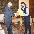 BCCI Chief Sourav Ganguly met West Bengal governor