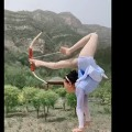 China girl mesmerizes with her acrobatic skills
