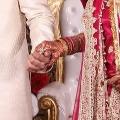 Wedding reception menu designed like Aadhar card