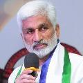 Vijayasai Reddy once again slams TDP Supremo Chandrababu