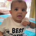 suresh raina shares his sons video
